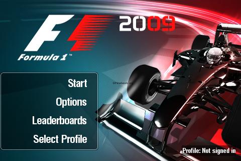 Formula 2009 im Appstore