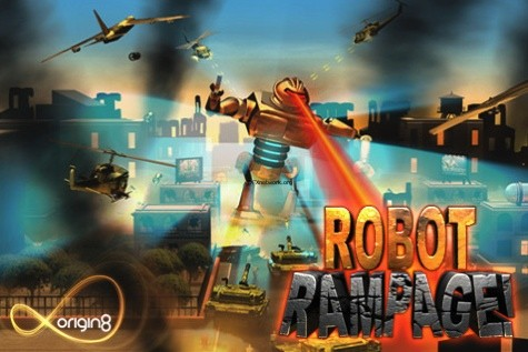 Robot Rampage – Du Eroberst die Erde