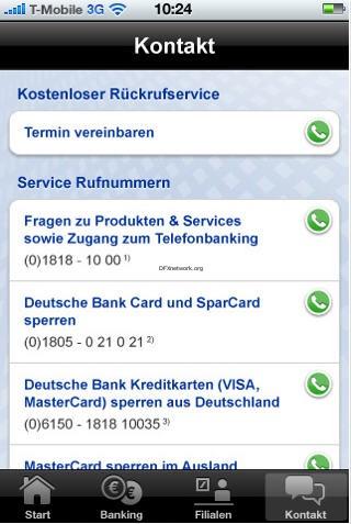 Meine Bank – Die App der Deutschen Bank