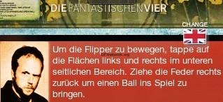 Fanta 4 Flipper – Ab 7. Mai Flippern mit den Fantastischen 4