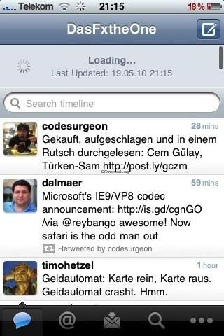 Twitter – die Offizielle Twitter App