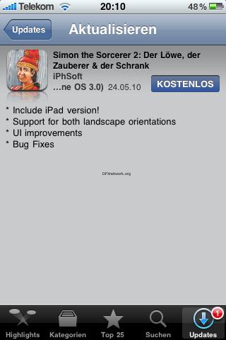 Simon the Sorcerer und Flight of the Amazon Queen – iPad Update Kostenlos