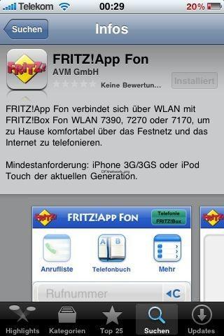 Fritz!App – Endlich im Appstore angekommen