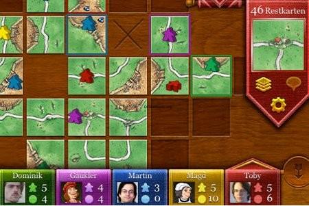 Carcassonne – Das Spiel des Jahres 2001 auf dem iPhone