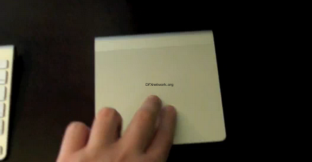Magic Trackpad in Aktion – Es lohnt sich wirklich