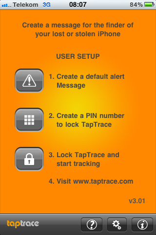 """TapTrace Pro – iPhone finden ohne """"Me"""""""