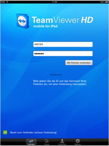 Teamviewer HD – Fernsteuern im grossen