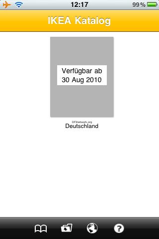 IKEA Katalog nun auch auf dem iPhone – Fast !