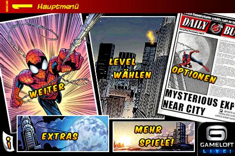 Spiderman: Total Mayhem – Die Spinne auf dem iPhone