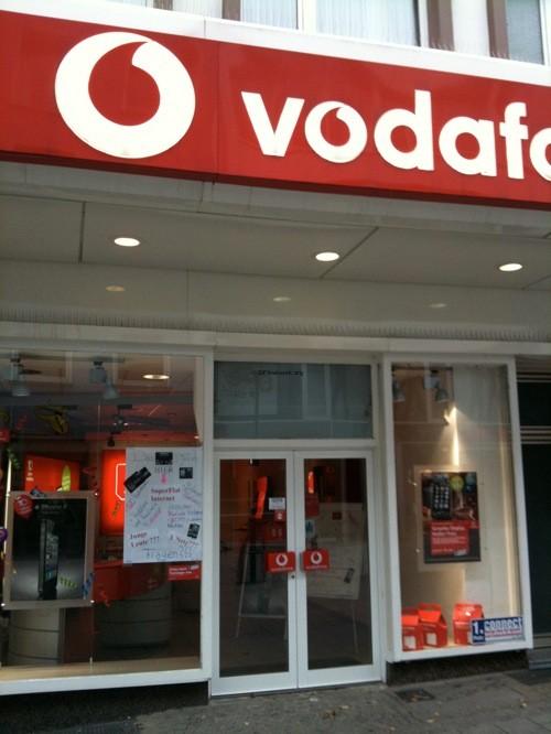 iPhone 4 bei Vodafone – In Solingen schon zu haben