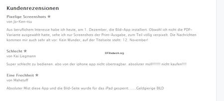 die BILD HD im Apptore – iPad wird von Bild.de ausgesperrt