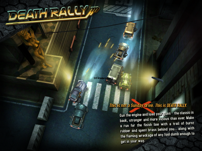 Death Rally – Funracer im Appstore