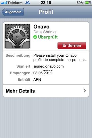 Onavo – Daten Volumen Sparen leicht gemacht