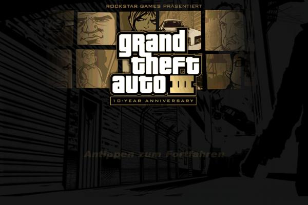 Grand Theft Auto 3 – GTA 3 auf dem iPhone