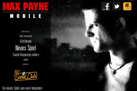Max Payne Mobile – Ein Klassiker auf dem iPhone