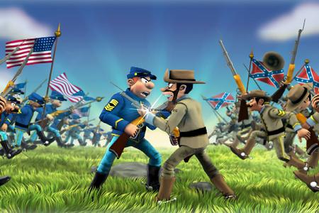 Die Blauen Boys: North vs. South auf iOS angekommen