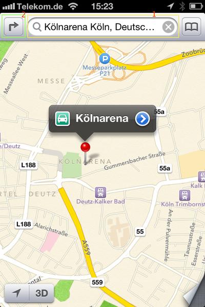 iOS 6 Beta 3 – Turn by Turn Navigation mit der neuen Apple Maps App
