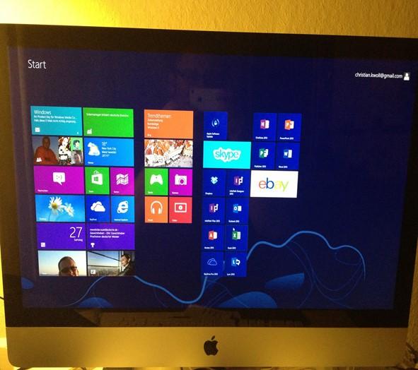 Windows 8 – da wird gekachelt