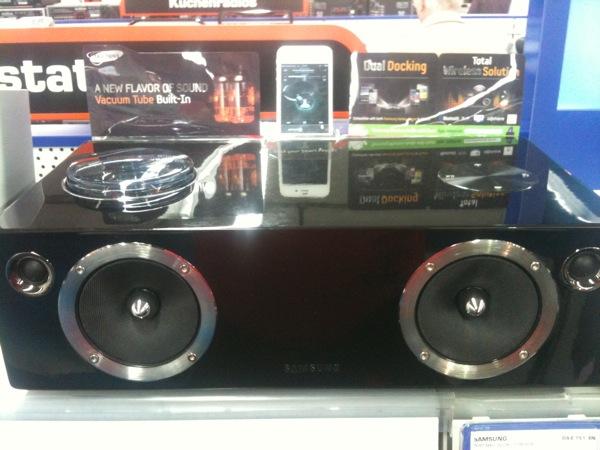Samsung DA-E 751/EN – Ein wirklich gutes Sound Dock