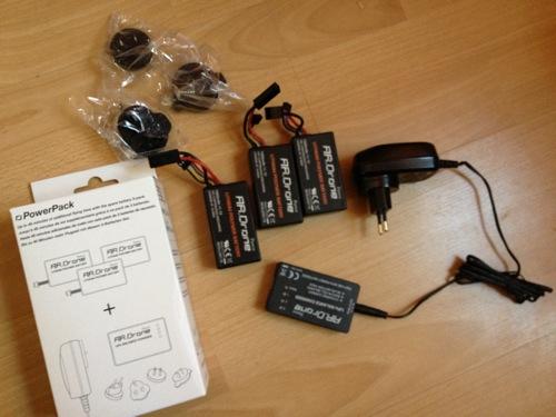 Parrot PowerPack für die AR.Drone 1+2