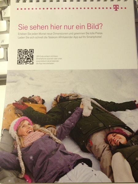 Telekom AR-Kalender