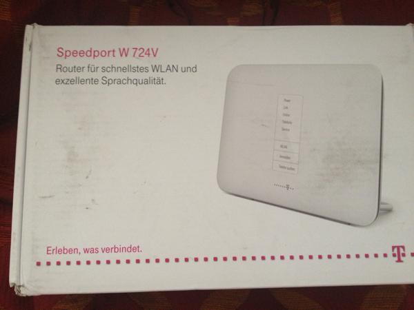 Telekom Speedport W 724V – Auspacken, Einschalten, Enttäuscht